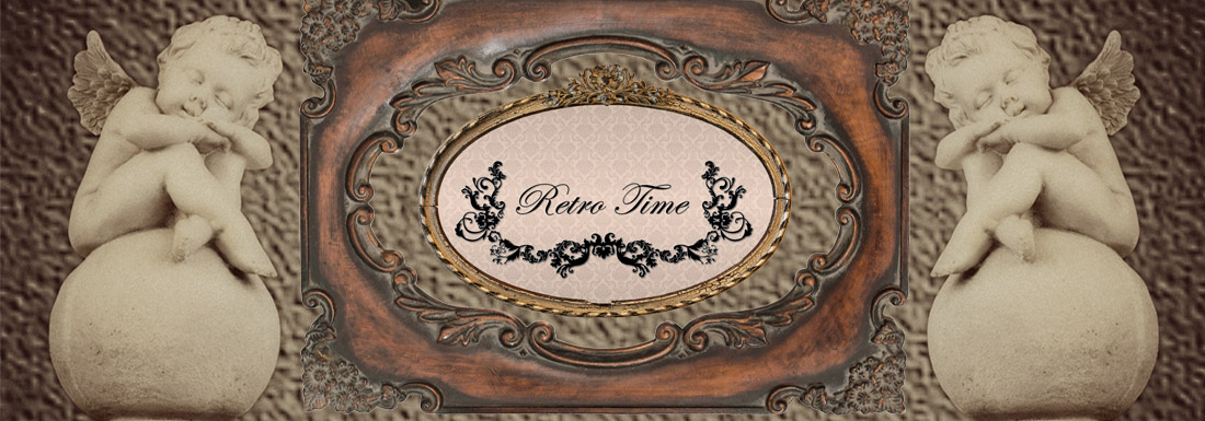 Retro Time baner & logo